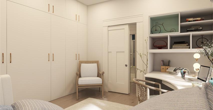 Australian home Interior Design Render