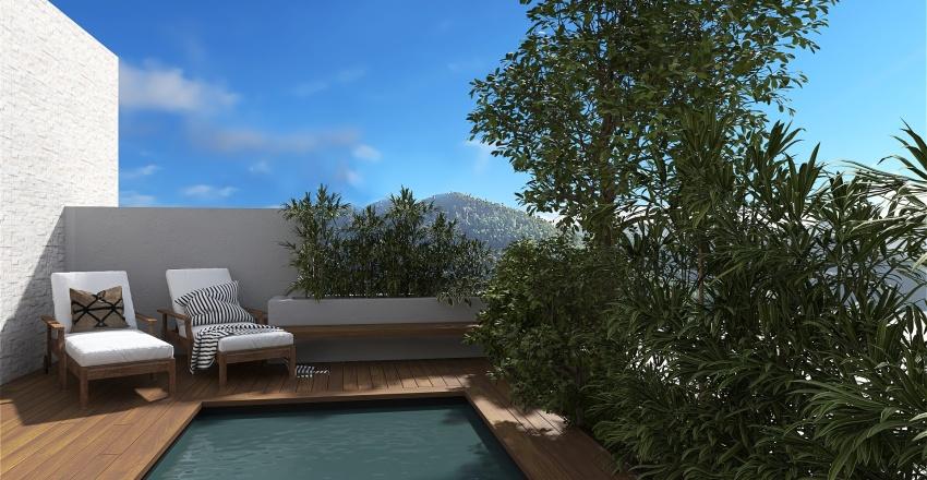 Seaside Spa Interior Design Render
