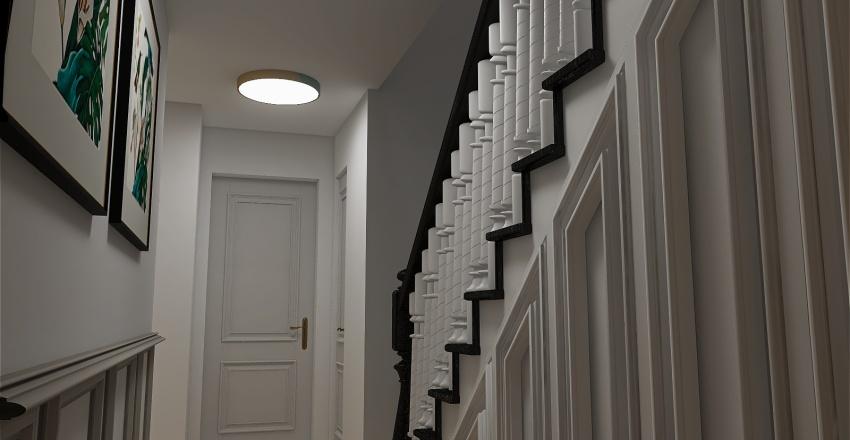 stairwell Interior Design Render