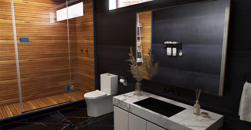 CALIFORNIA cottage Interior Design Render