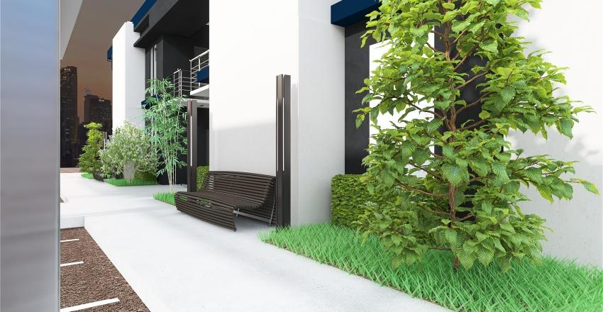 APARTMENTS IN THE CITY Interior Design Render