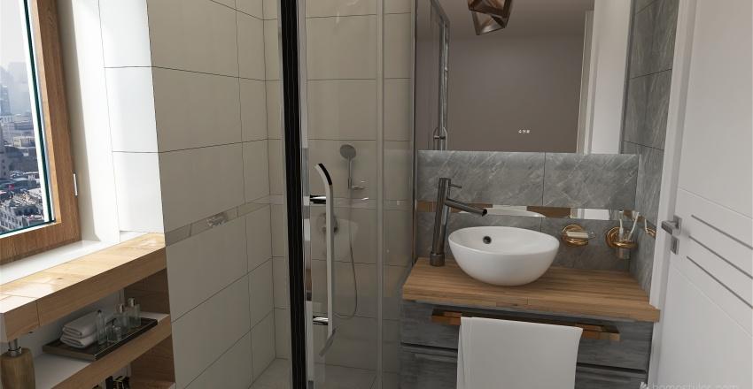 Łazienka mała Interior Design Render