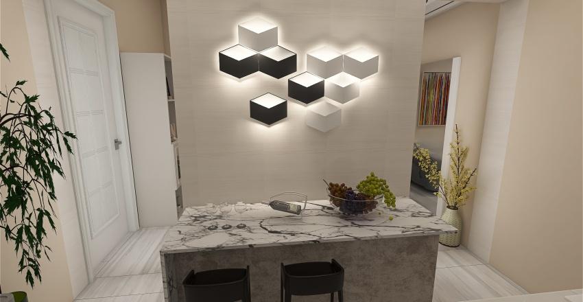 36.5㎡  Manila Student Condominium Interior Design Render