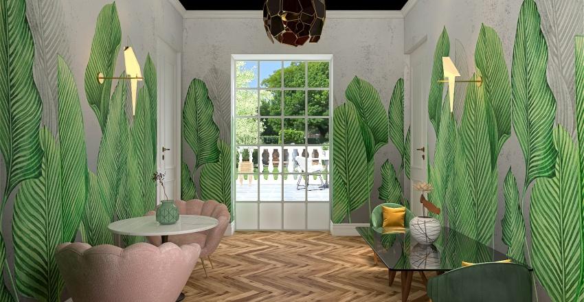 Casa Romulus_Parter Interior Design Render