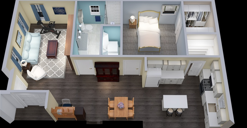 This might be the ONE! Interior Design Render