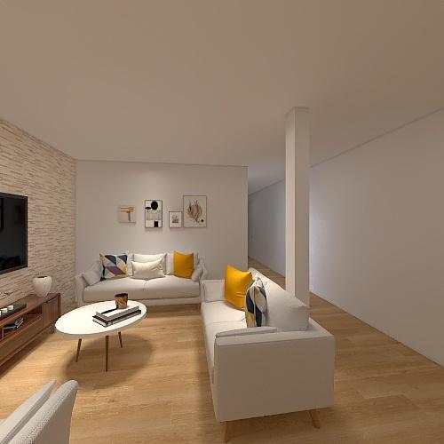 PROYECTO TULIPANES Interior Design Render