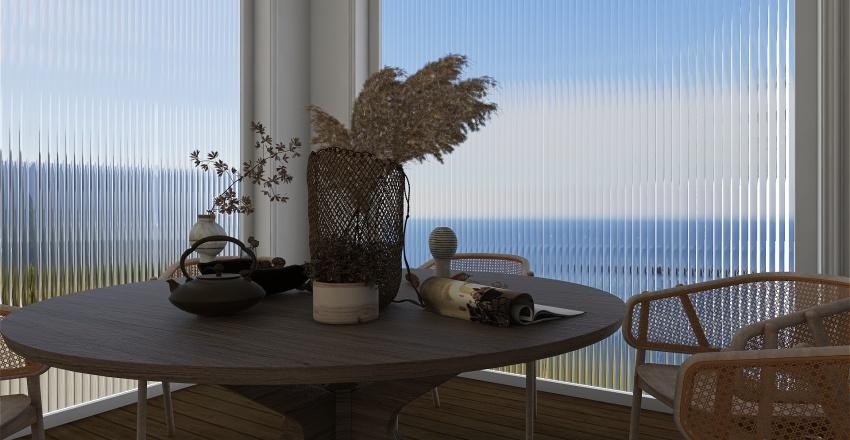 House near the sea Interior Design Render