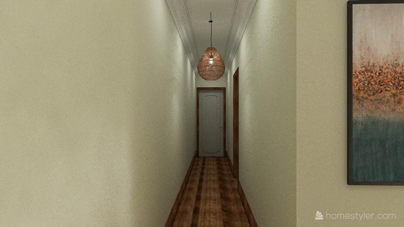 santa monica Interior Design Render