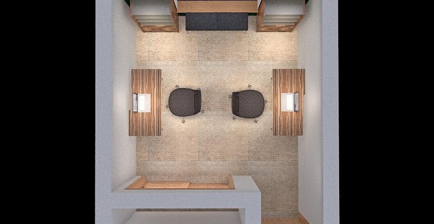Sam's and Ken's Office 1 Interior Design Render