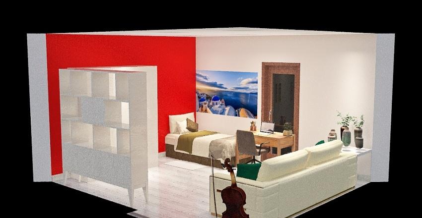 Raffy's room Interior Design Render