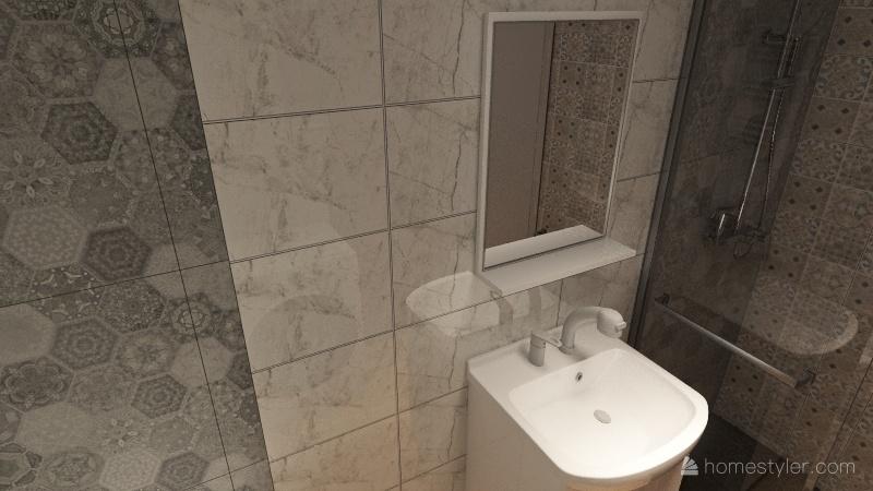 Łazienka 3_1 Interior Design Render