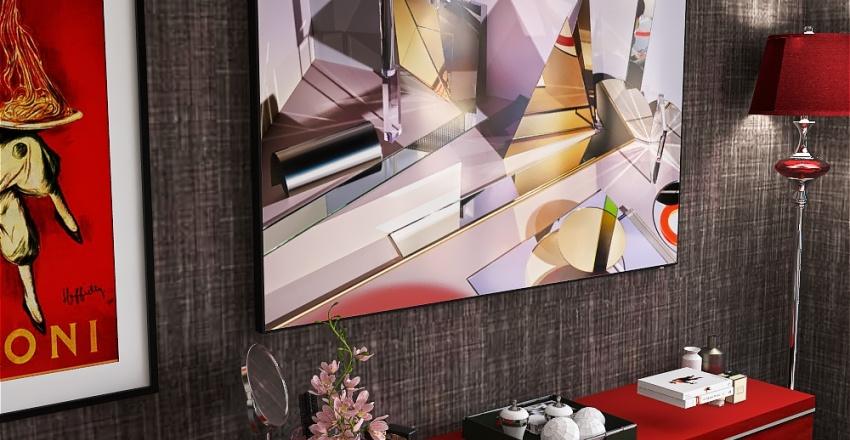 Downtown Appartment Interior Design Render