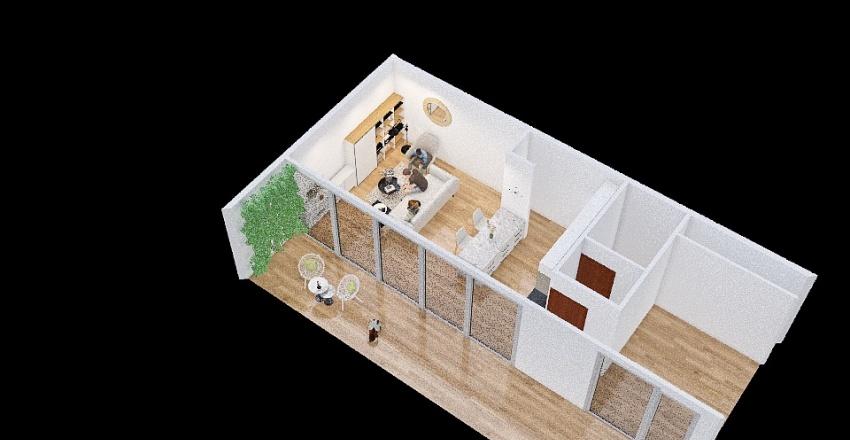 2 ambientes_copy Interior Design Render