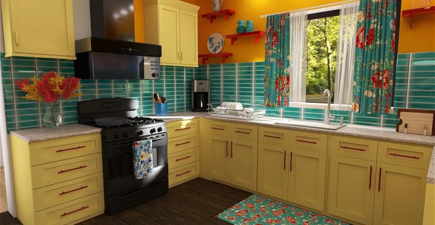 Alder Kitchen Interior Design Render