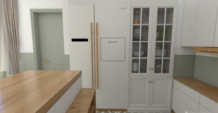 green nook house Interior Design Render