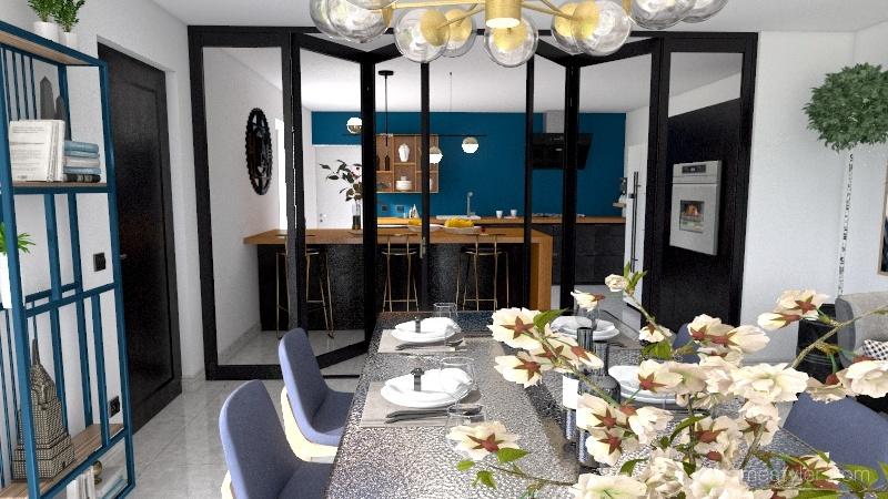 MR MME BAZIE Interior Design Render