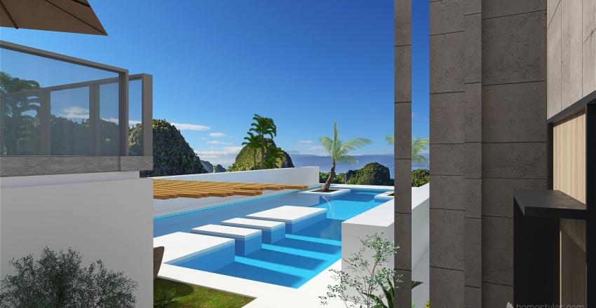 North Coast Challet Interior Design Render