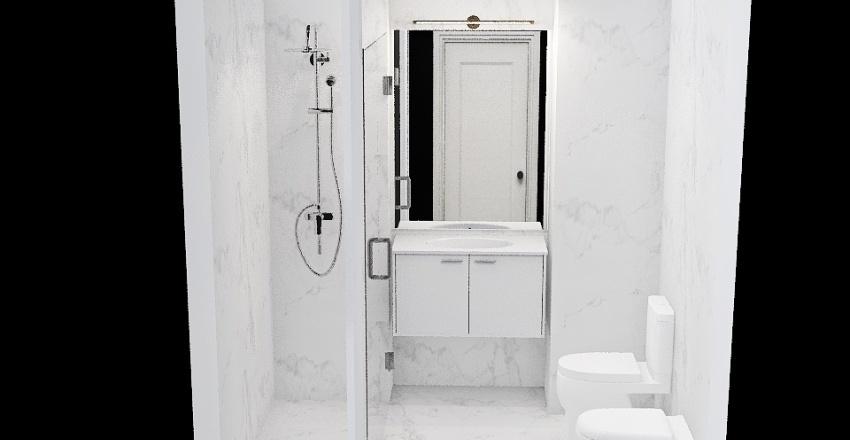 Baño Abi - 2 Hornacinas Interior Design Render
