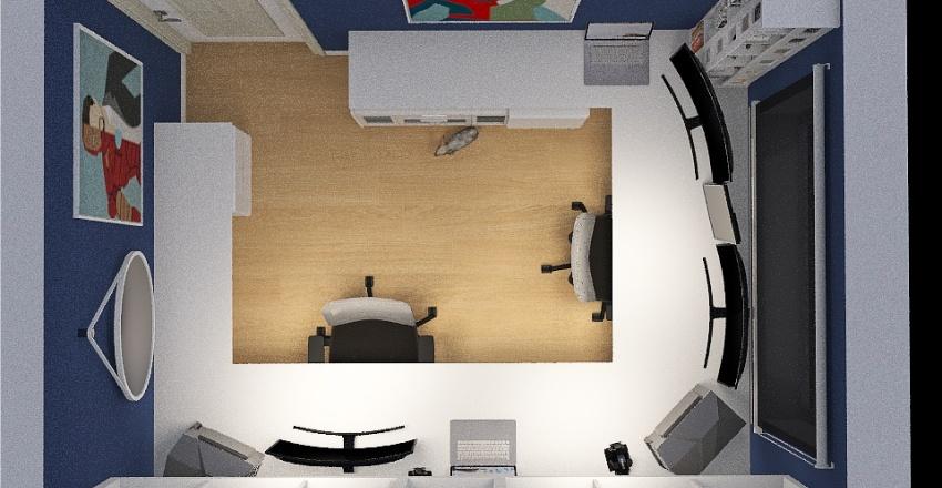 Eleva Tatuapé 40m² Interior Design Render