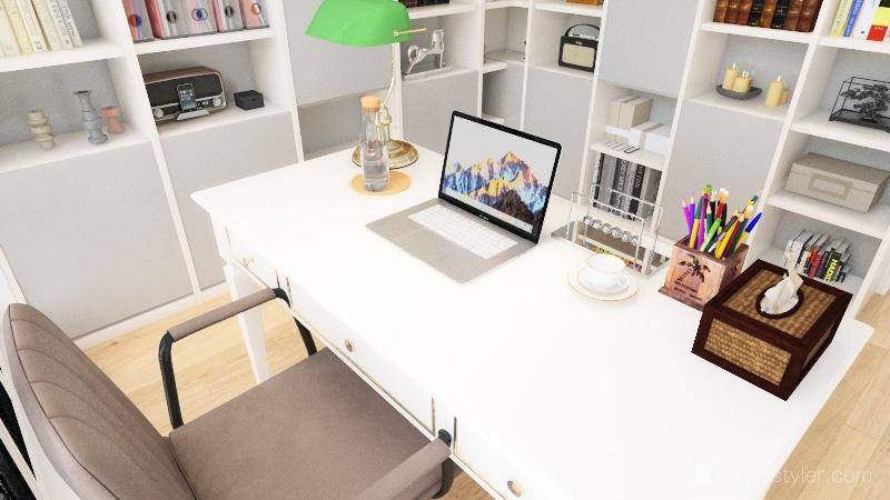 dom Interior Design Render