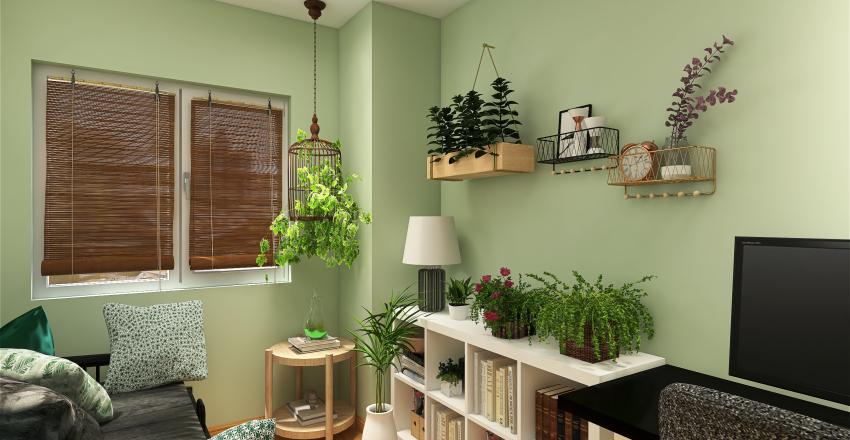 Ioana's room Interior Design Render