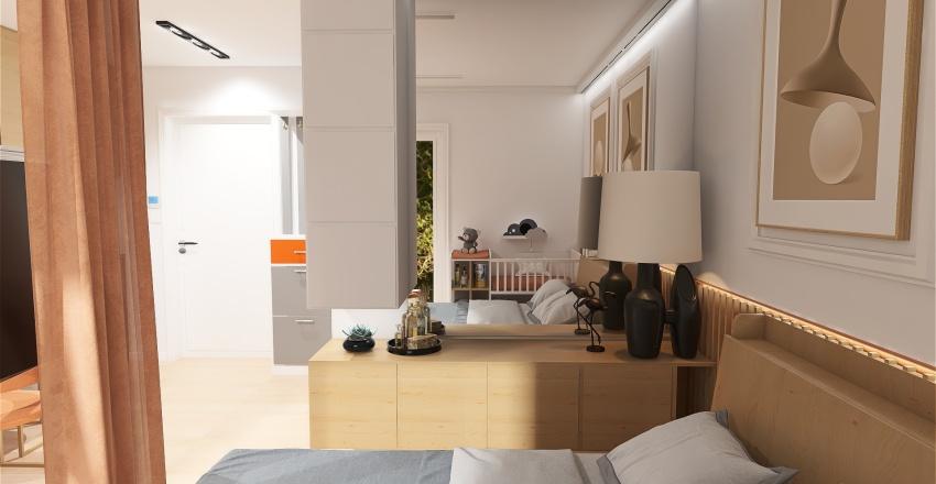 POKÓJ GOŚCINNY SARBINOWO 24 Interior Design Render