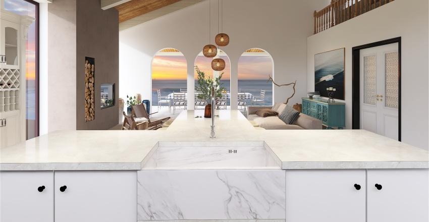 Casa Mediterrânea Interior Design Render