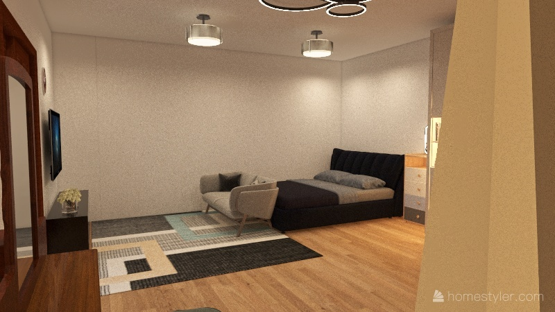 House two child #1 Interior Design Render