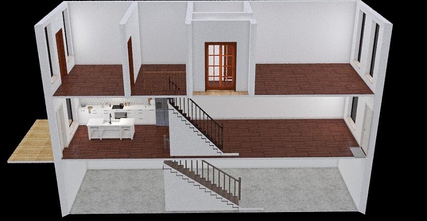 Baltimore House Interior Design Render