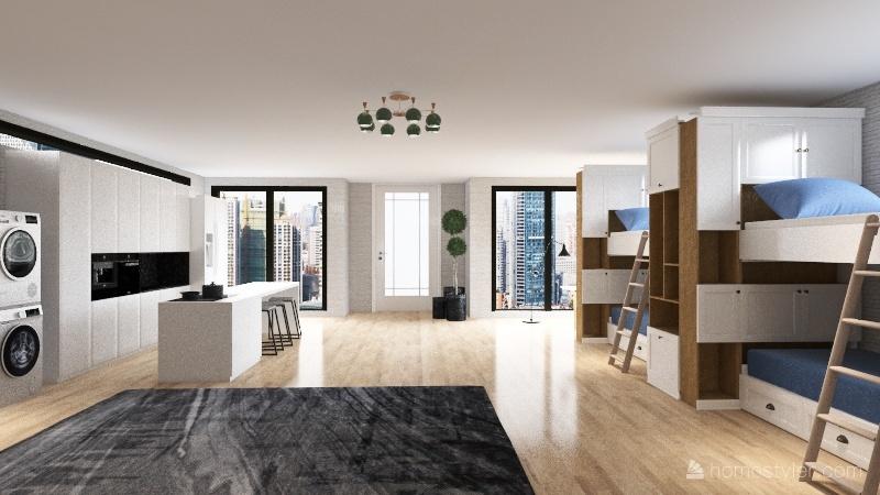 Loft 2 Interior Design Render