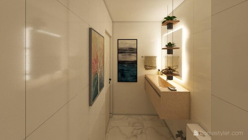 Apartamento Botafogo 2021 Interior Design Render