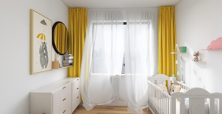 Nursery room 2 Interior Design Render