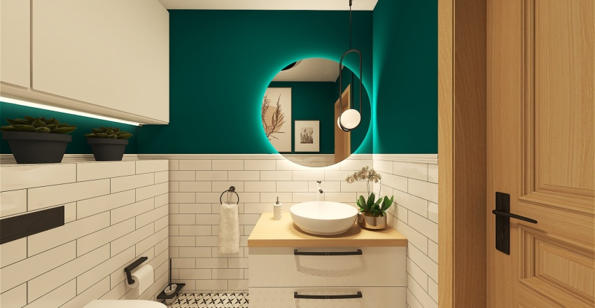 wc1 Interior Design Render