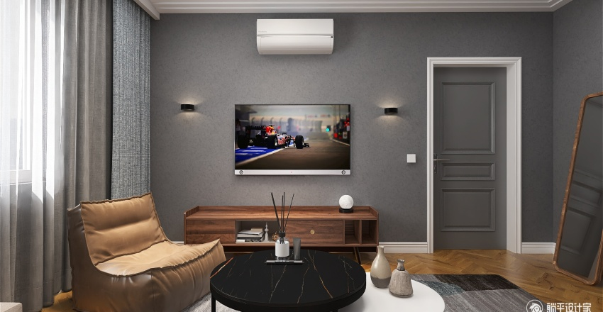 DP-001 Interior Design Render