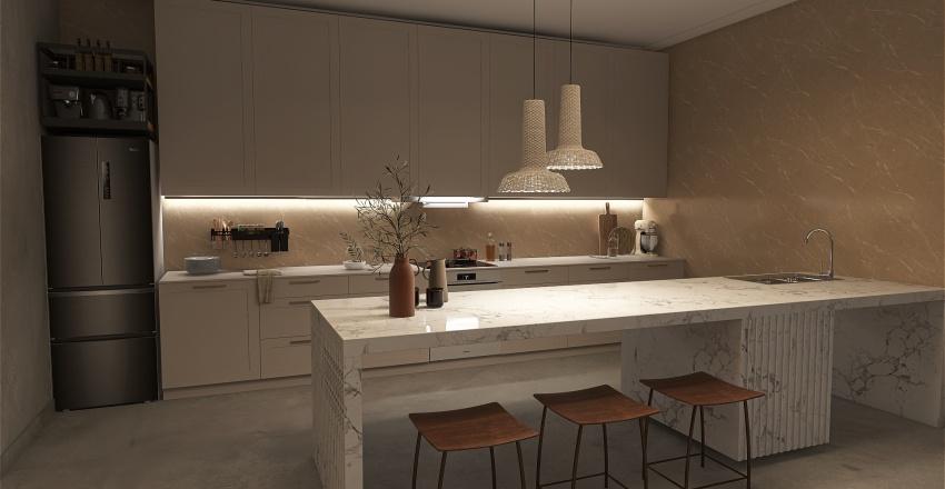 NY city apartment Interior Design Render
