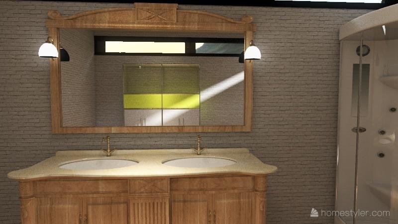 Loft 1 Interior Design Render