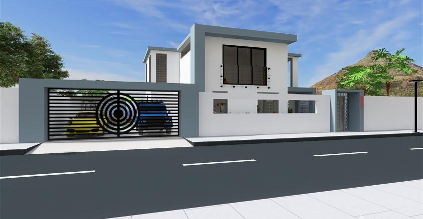Bay View House Interior Design Render
