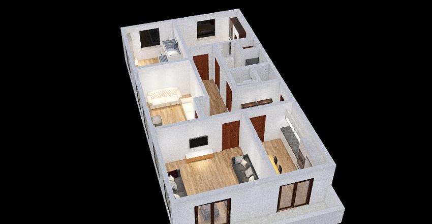 4+1 oguz Interior Design Render