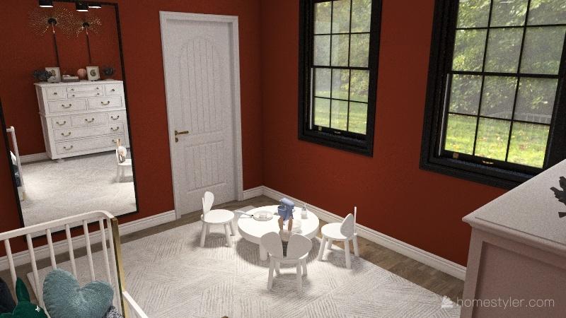 2042 House Interior Design Render
