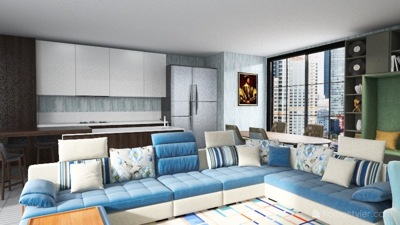 HFOA Interior Design Render