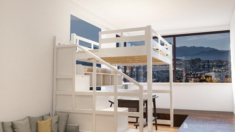 小户型 Interior Design Render