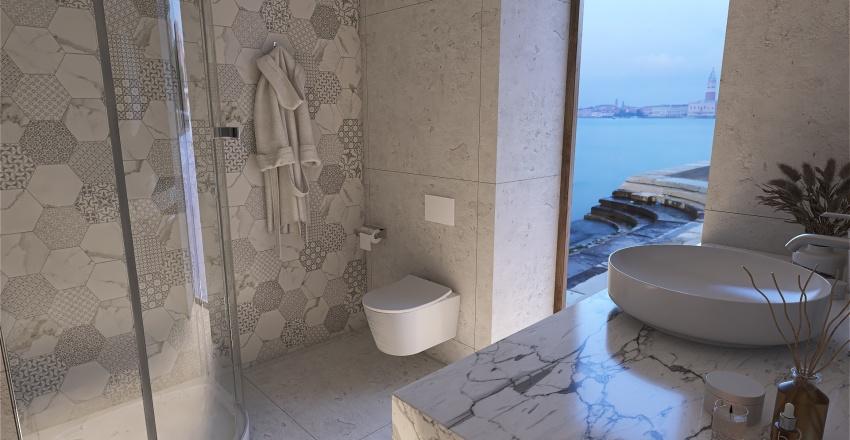 Casa de Playa Interior Design Render
