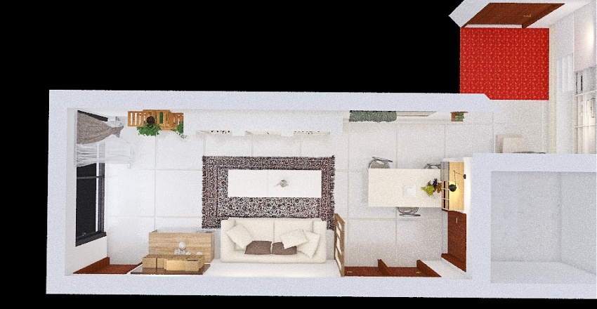 livingroom937*300 Interior Design Render