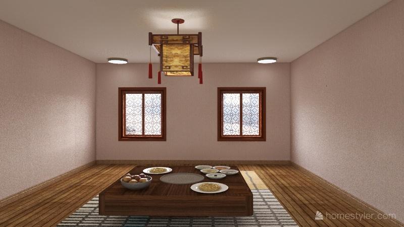 Japanese Interior Design Render