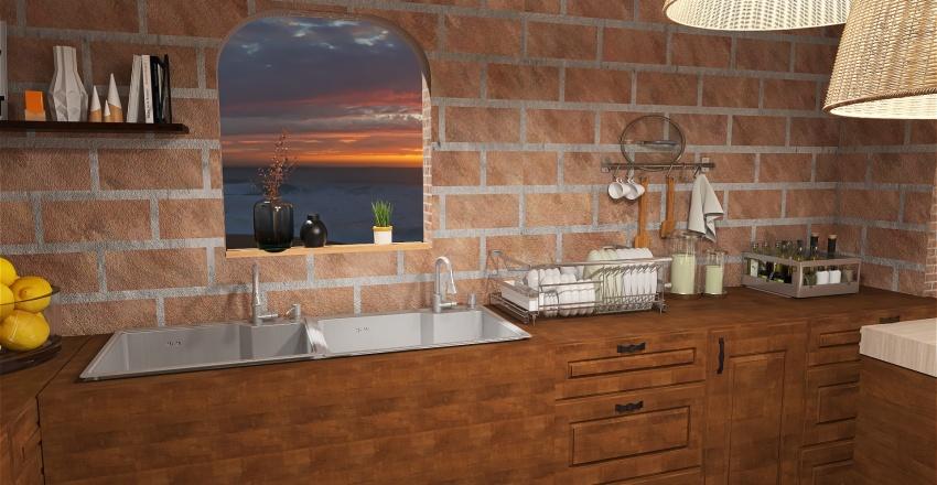 Ocean Front Villa Interior Design Render