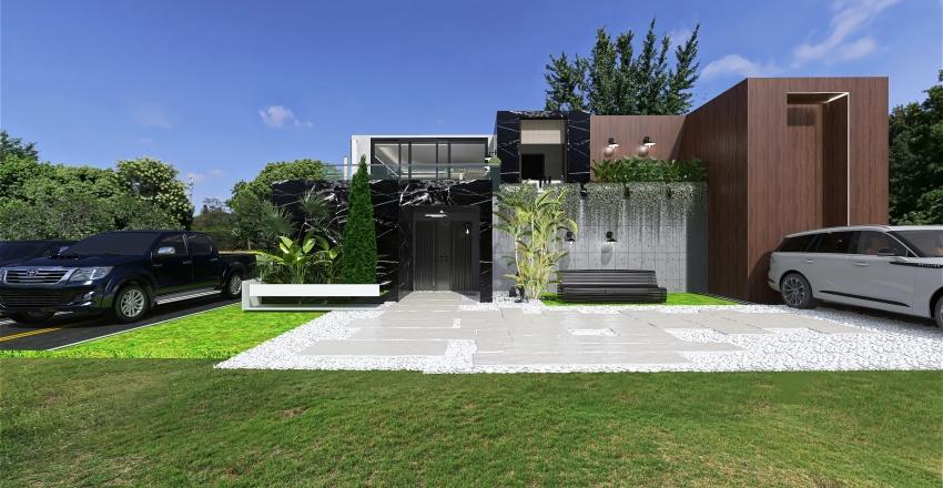 jojo house Interior Design Render