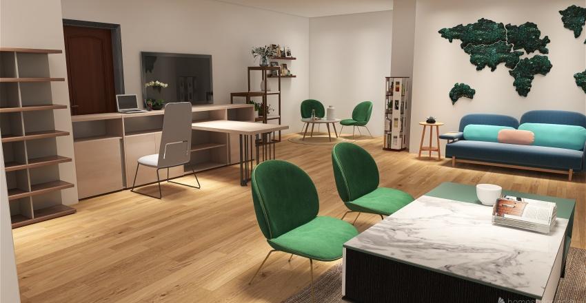 First Floor Floor Plan Interior Design Render