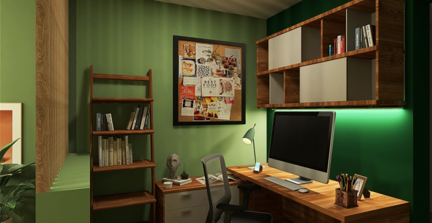 CASA TETE  Interior Design Render