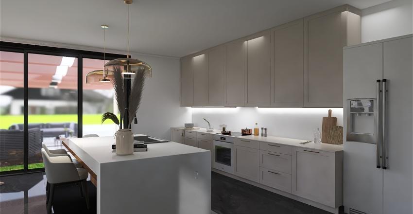 ivy house Interior Design Render