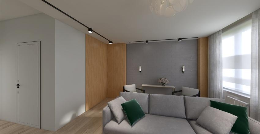 Down-town house Interior Design Render